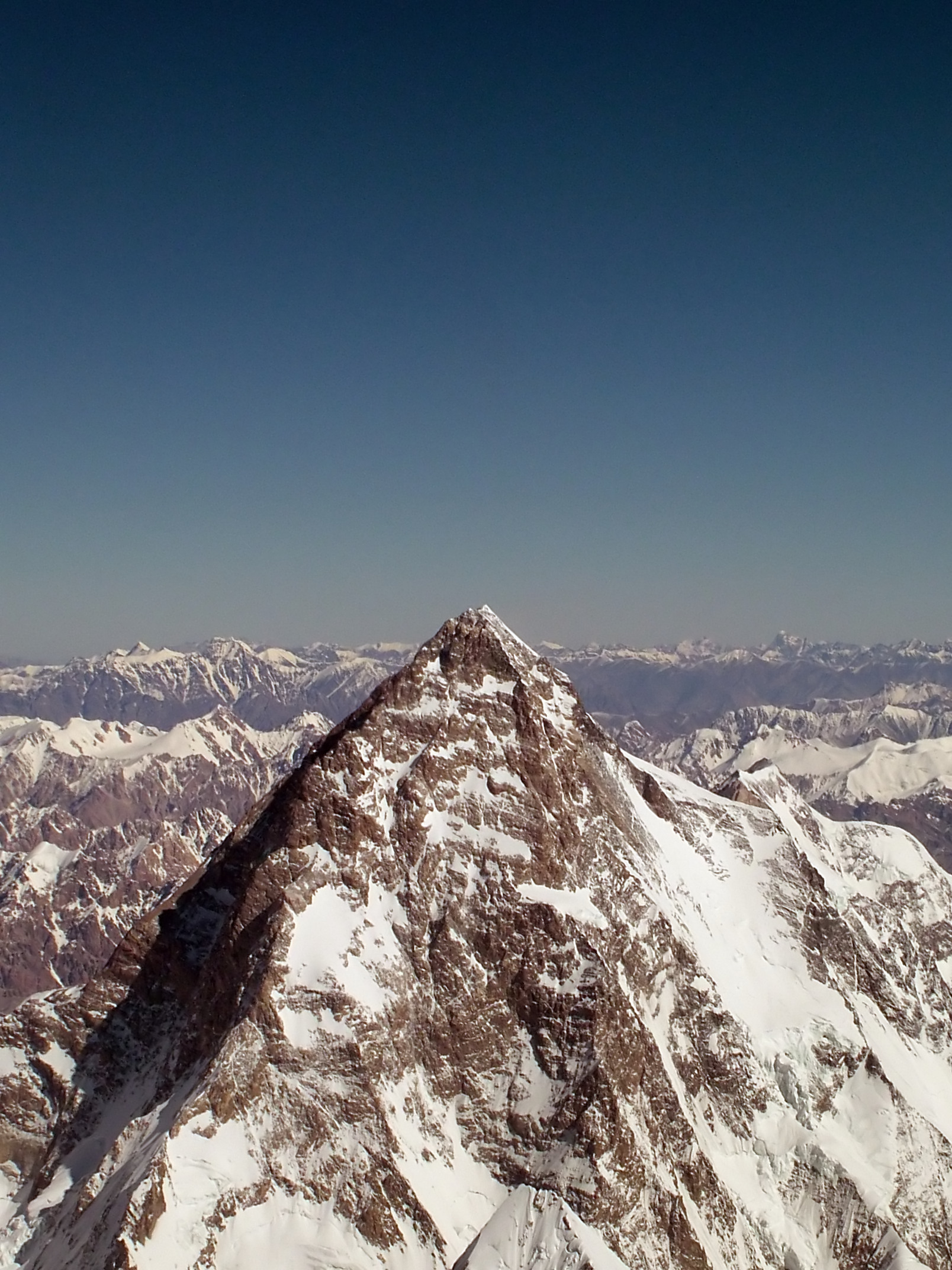West Face of K2 Mountain