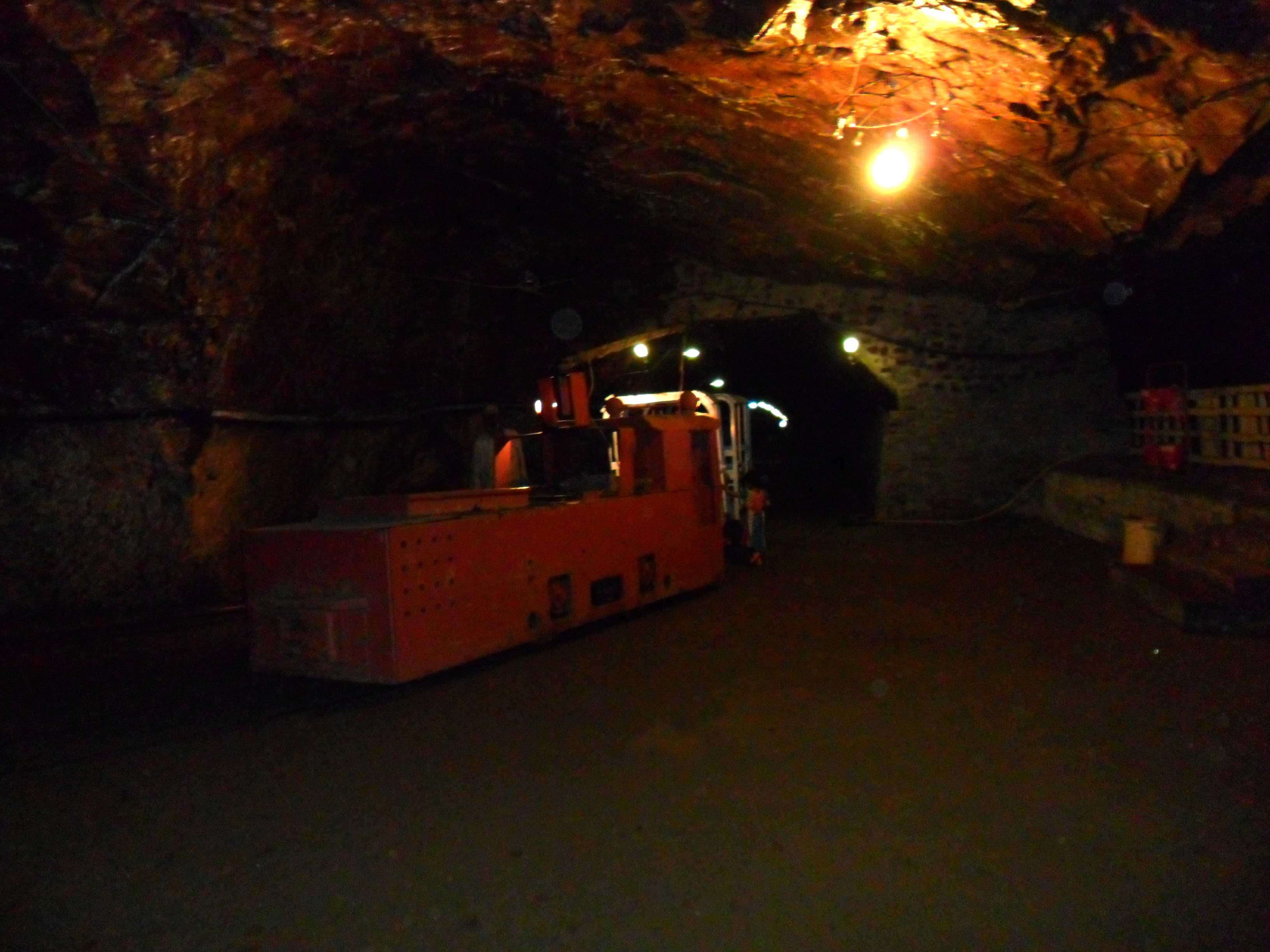 Electric Train of Khewra Salt Mines