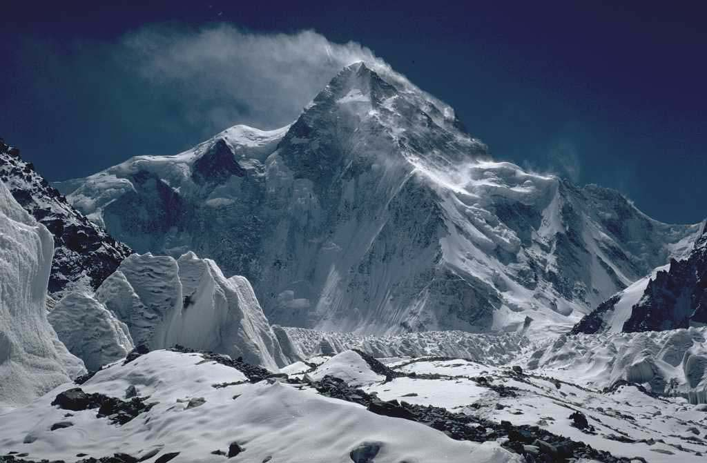North side of K2