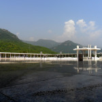 Main Courtyard of Faisal Mosque