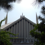A view of Faisal Mosque